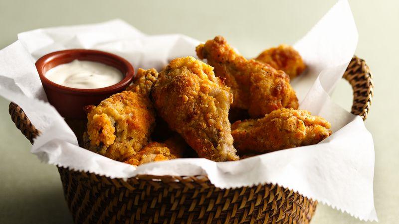 Hot Chicken Wings  Hot and Spicy Chicken Wings Recipe BettyCrocker