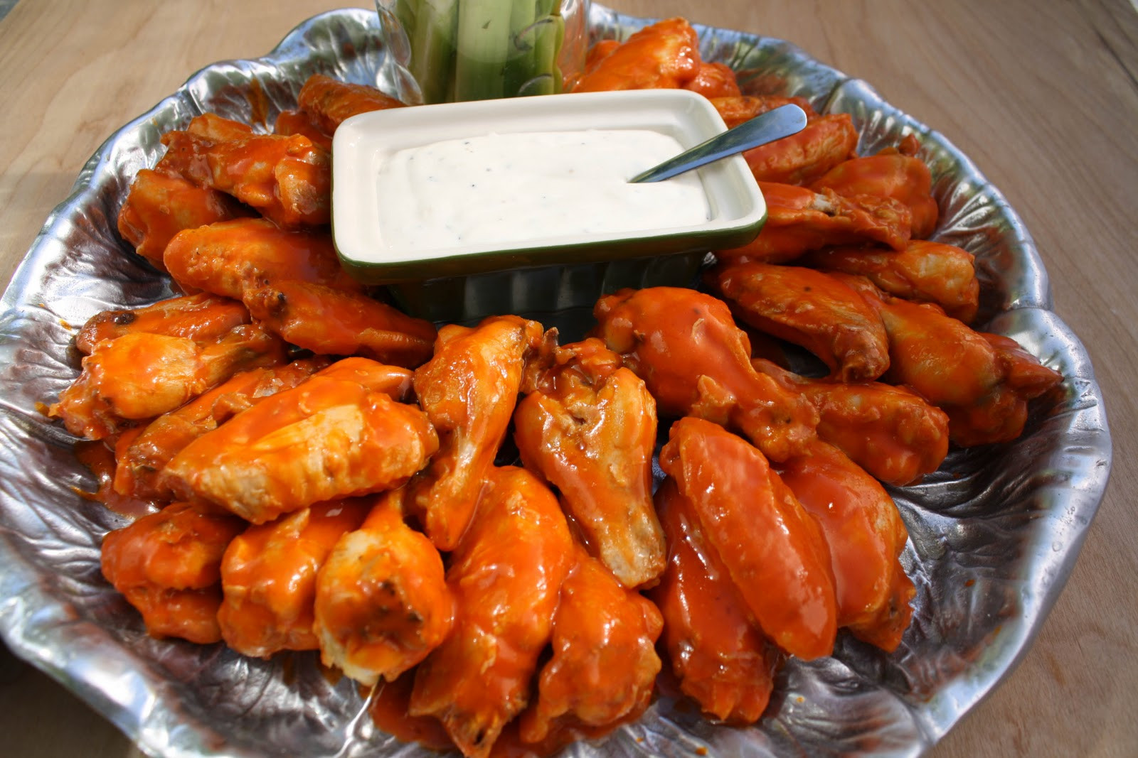 Hot Chicken Wings  Spicy Buffalo Hot Chicken Wings What A Girl Eats