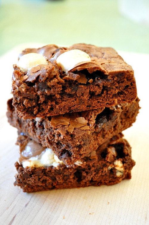 Hot Chocolate Brownies  Mexican Hot Chocolate Brownies Kitchy Cooking