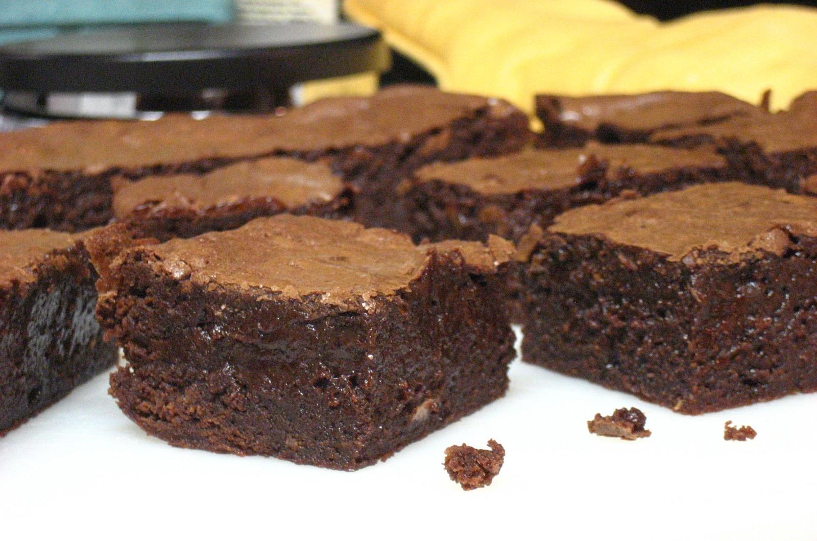 Hot Chocolate Brownies  The Foo Next Door Mexican Hot Chocolate Brownies