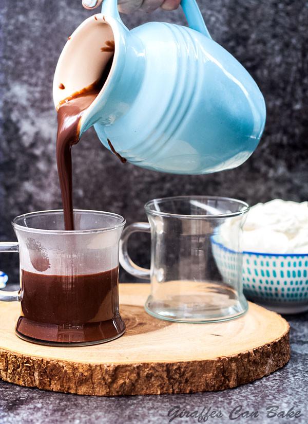 Hot Chocolate Scans  Hazelnut Italian Hot Chocolate