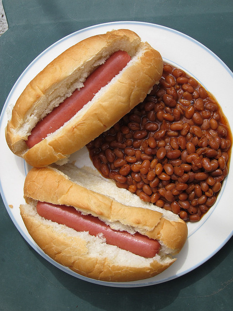 Hot Dogs And Beans  Flickr Sharing