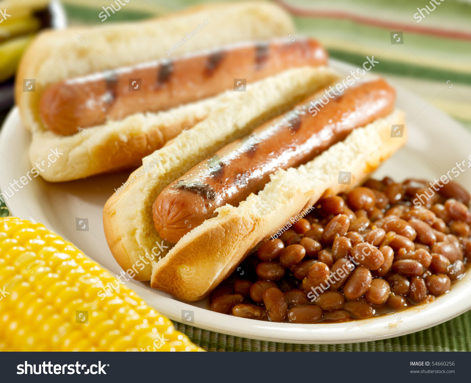 Hot Dogs And Beans  Hot Dogs And Baked Beans Stock Shutterstock
