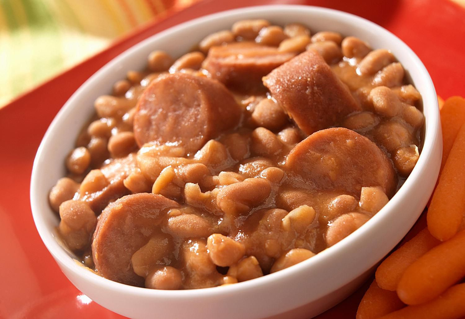 Hot Dogs And Beans  Beans and Hot Dog Casserole Recipe