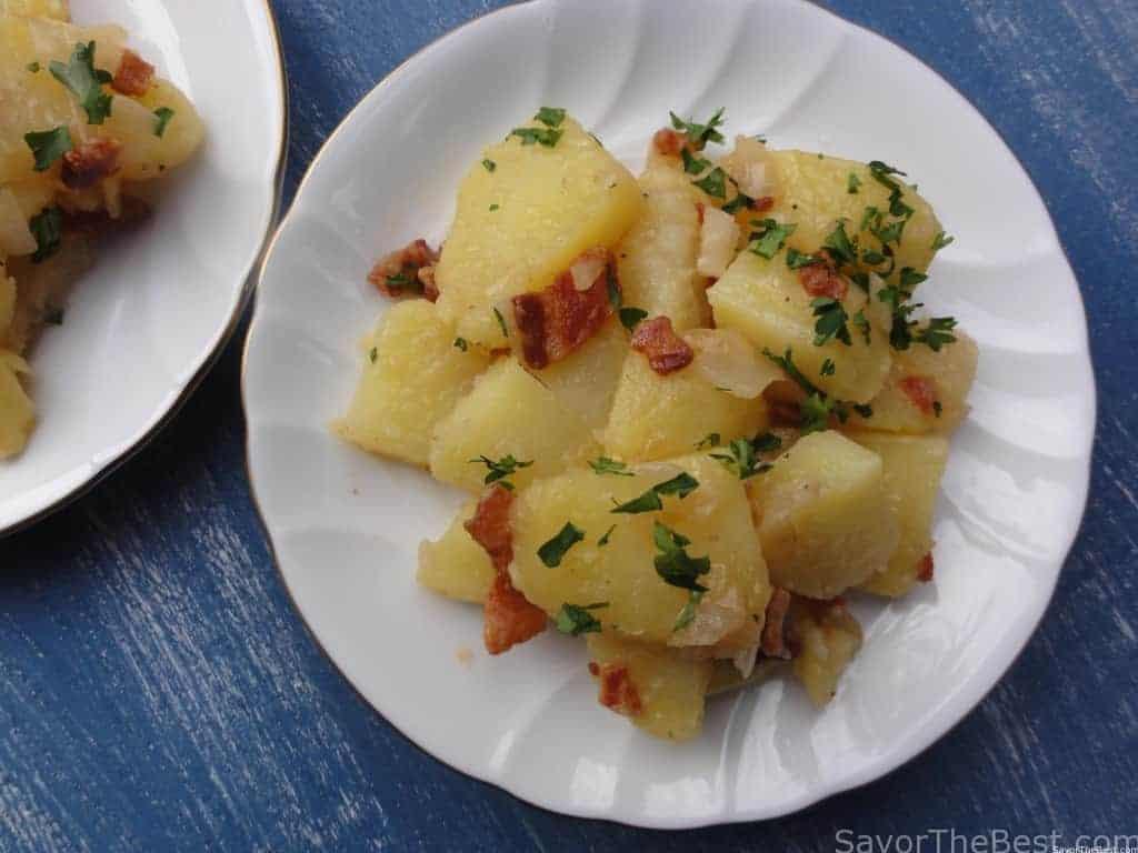 Hot German Potato Salad  Hot German Potato Salad Savor the Best