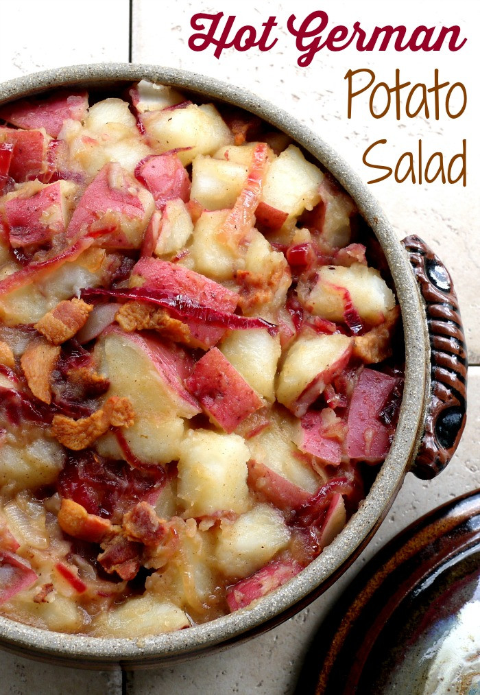 Hot German Potato Salad  Hot German Potato Salad Recipe