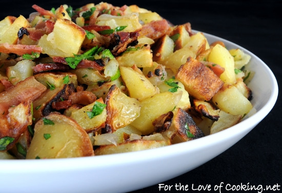 Hot German Potato Salad  German Roasted Potato Salad