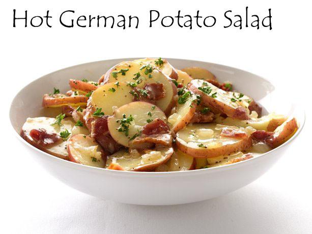 Hot German Potato Salad  My Favorite Things Oktoberfest Hot German Potato Salad