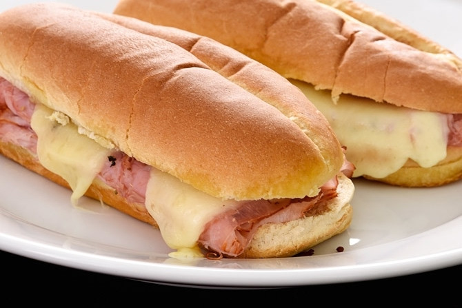 Hot Ham And Cheese Sandwiches  Hot Ham and Cheese Sandwiches