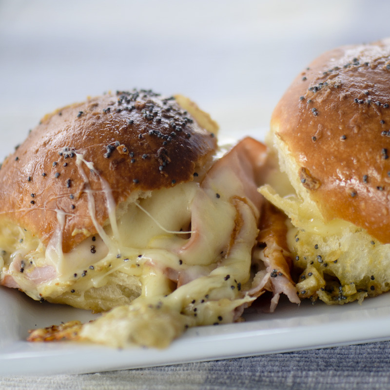 Hot Ham And Cheese Sandwiches  Hot Ham and Cheese Sandwiches – Recipe Diaries