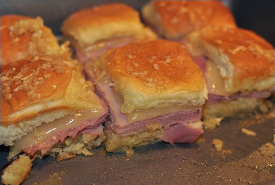 Hot Ham And Cheese Sandwiches  Mini Hot Ham and Cheese Sandwiches – Best Cooking recipes