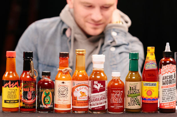 Hot Ones Hot Sauces  Celebs Will Say Anything if You Blast Them With Hot Sauce