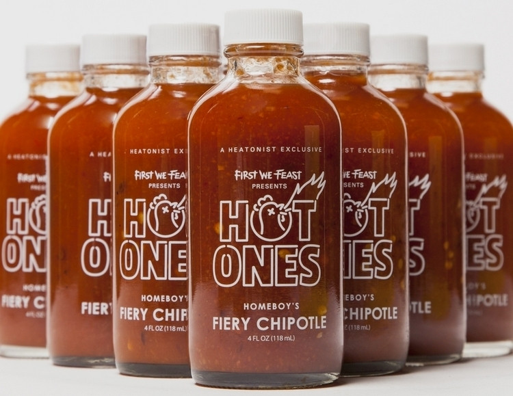 Hot Ones Hot Sauces  Hot es Fiery Chipotle