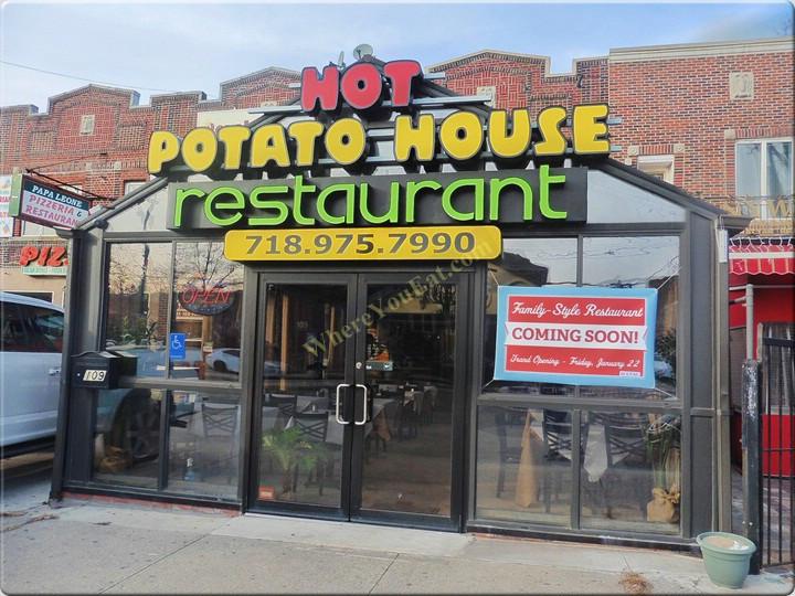 Hot Potato Cafe  Hot Potato House American Russian Restaurant in Manhattan