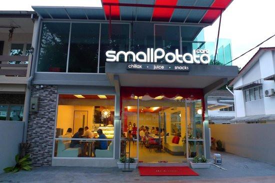 Hot Potato Cafe  Small Potato Cafe Picture of small potato Cafe Tanjung