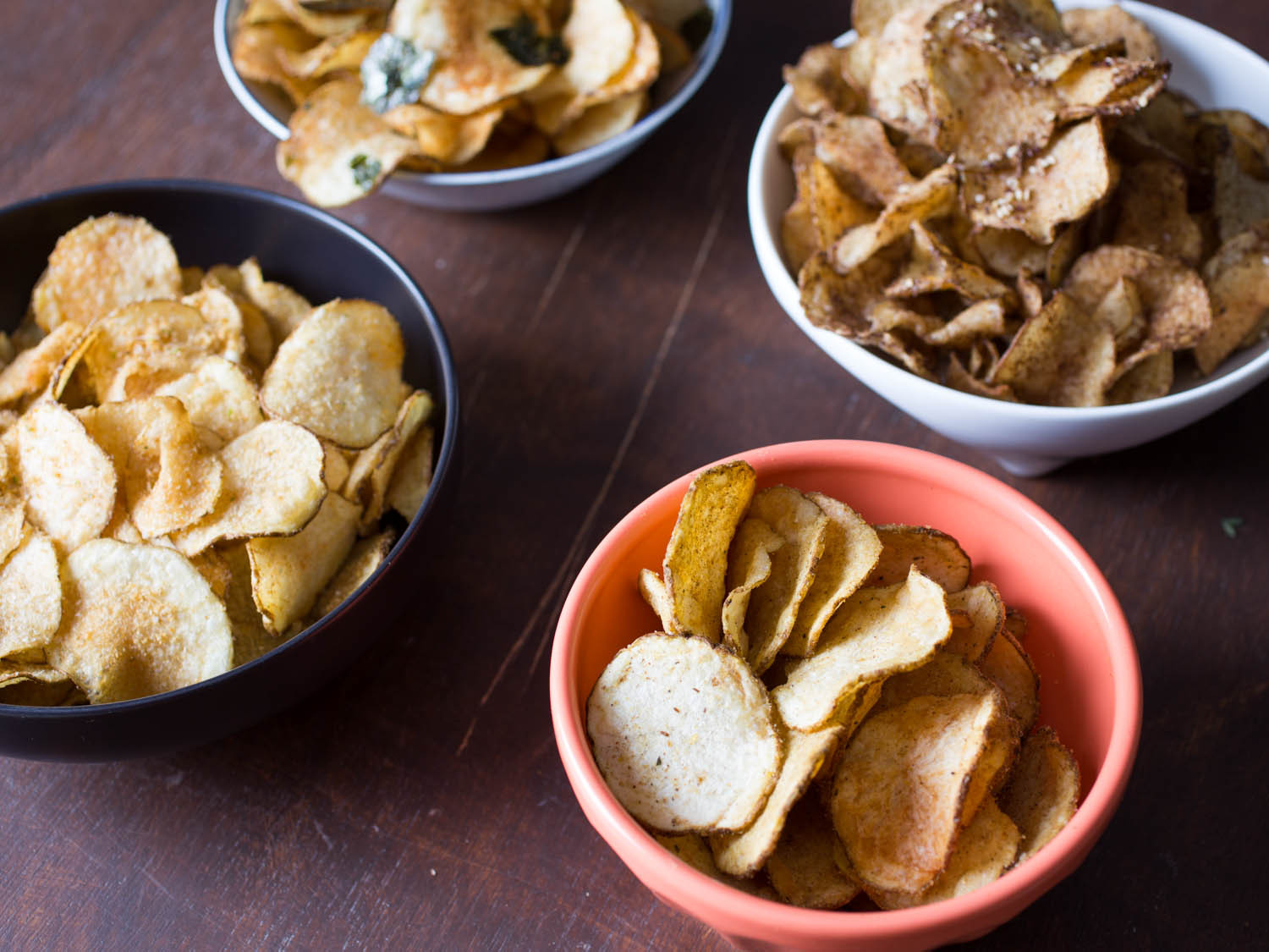 How Are Potato Chips Made  Game Day Snacks 4 Awesome Homemade Potato Chip Flavors