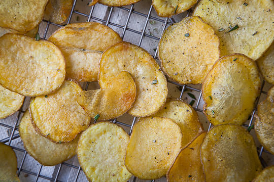 How Are Potato Chips Made  How to Make Potato Chips Homemade Potato Chips