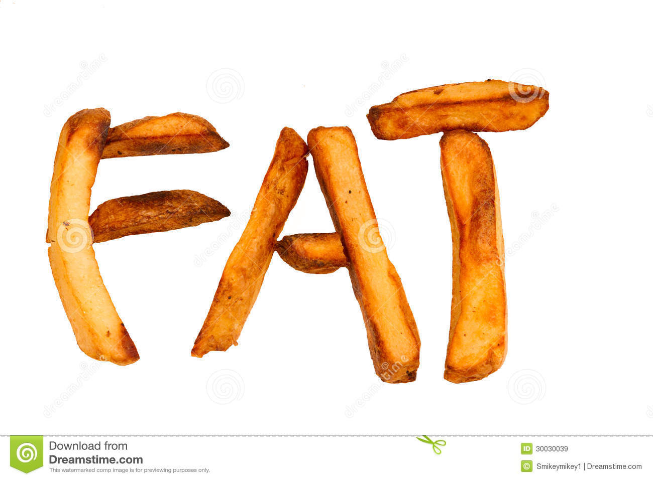 How Do You Spell Potato  Oven Baked Potato Chips Isolated Spelling FAT Royalty Free