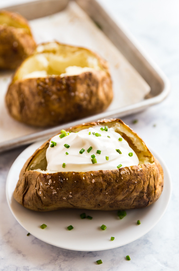 How Long Baked Potato  How to cook a baked potato perfectly
