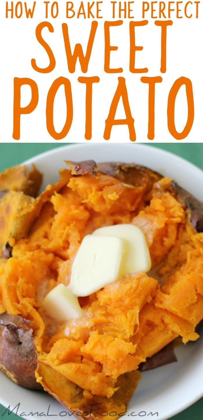 How Long Does It Take To Bake A Potato  Baked Sweet Potato How to Bake Sweet Potatoes Mama