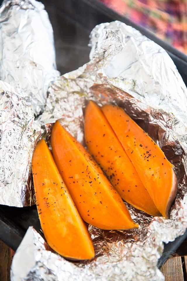 How Long Does It Take To Bake A Sweet Potato  Easy Baked Sweet Potatoes • The Healthy Foo