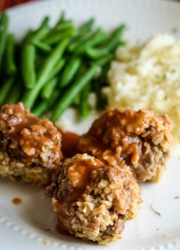 How Long Does It Take To Make Mashed Potatoes  Instant Pot Tangy Meatballs with Idahoan Mashed Potatoes