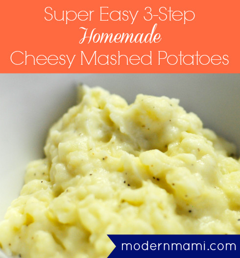 How Long Does It Take To Make Mashed Potatoes  Super Easy 3 Step Cheesy Mashed Potatoes Recipe