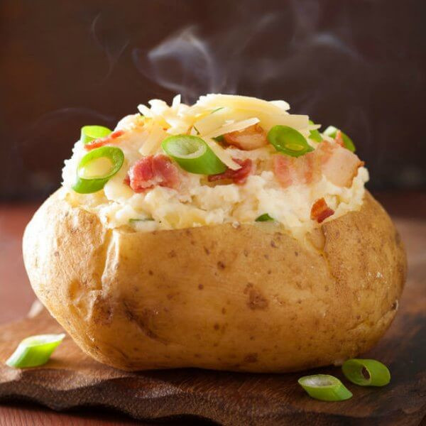 How Long Does It Take To Microwave A Potato  Microwave Baked Potato How to bake a potato in the microwave