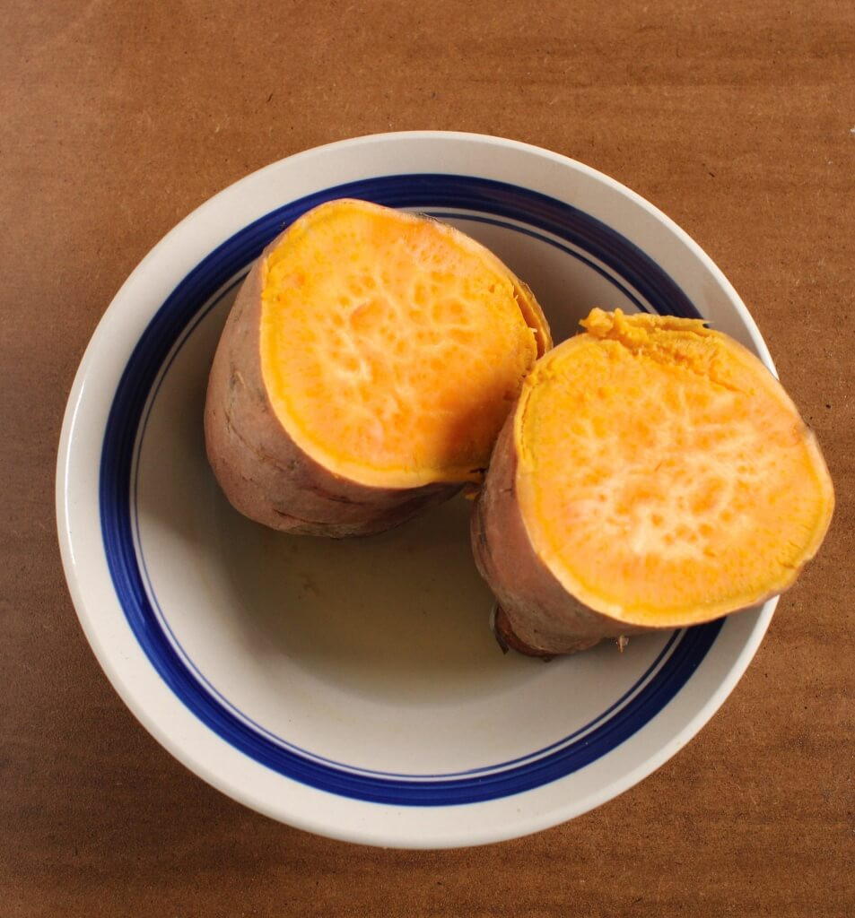 How Long Does It Take To Microwave A Potato  Sweet Potato Flatbread ly 2 Ingre nts