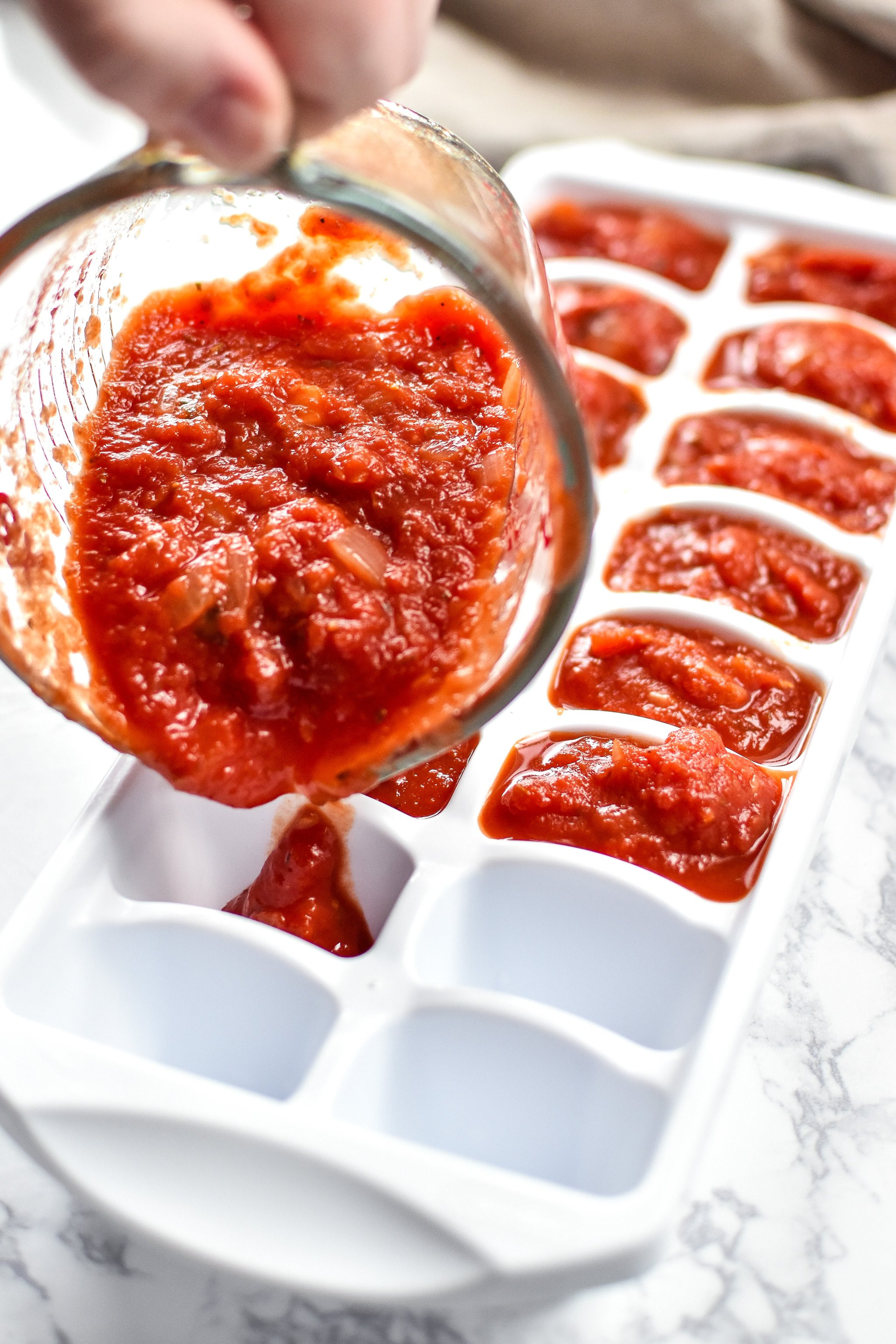 How Long Does Tomato Sauce Last In The Fridge  How to Make and Freeze Homemade Pizza Sauce Project Meal