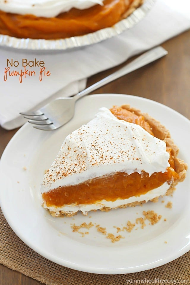 How Long To Bake Apple Pie  No Bake Pumpkin Pie Yummy Healthy Easy