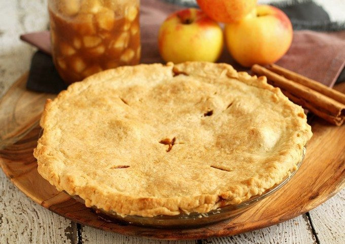 How Long To Bake Apple Pie  Homemade Apple Pie Filling Perfect for Autumn Baking