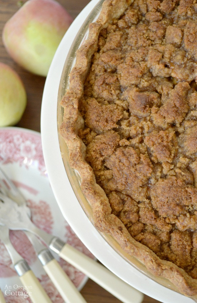 How Long To Bake Apple Pie  Crumb Topped Apple Pie Bake Now or Freeze for Later