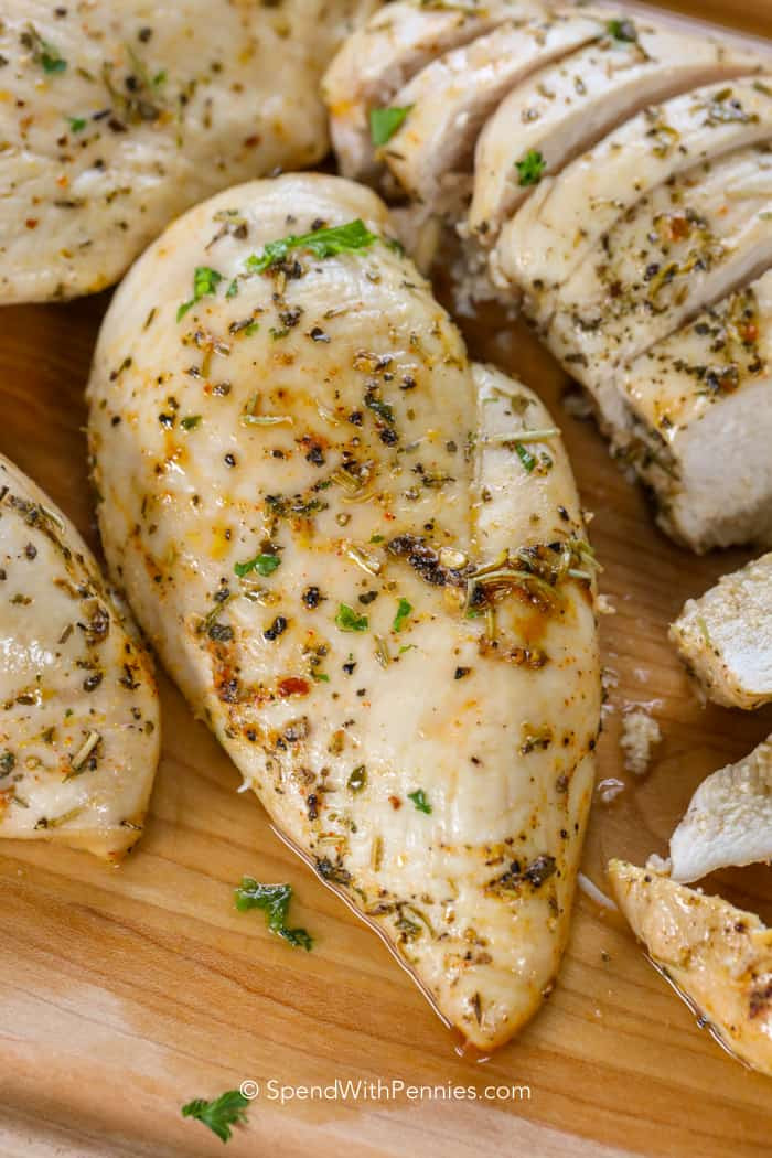 How Long To Bake Chicken Breasts  Oven Baked Chicken Breasts Spend With Pennies