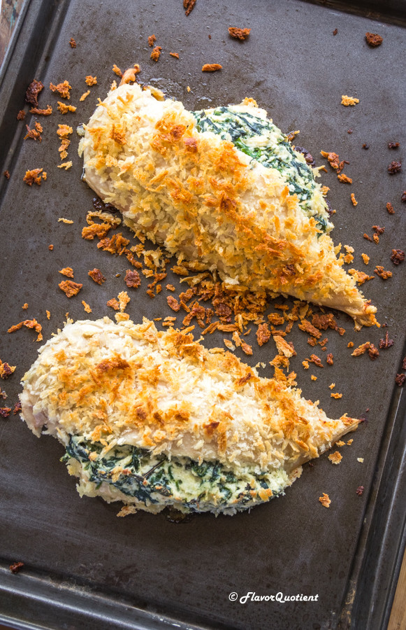 How Long To Bake Chicken Breasts  Ricotta and Spinach Stuffed Baked Chicken Breast Flavor