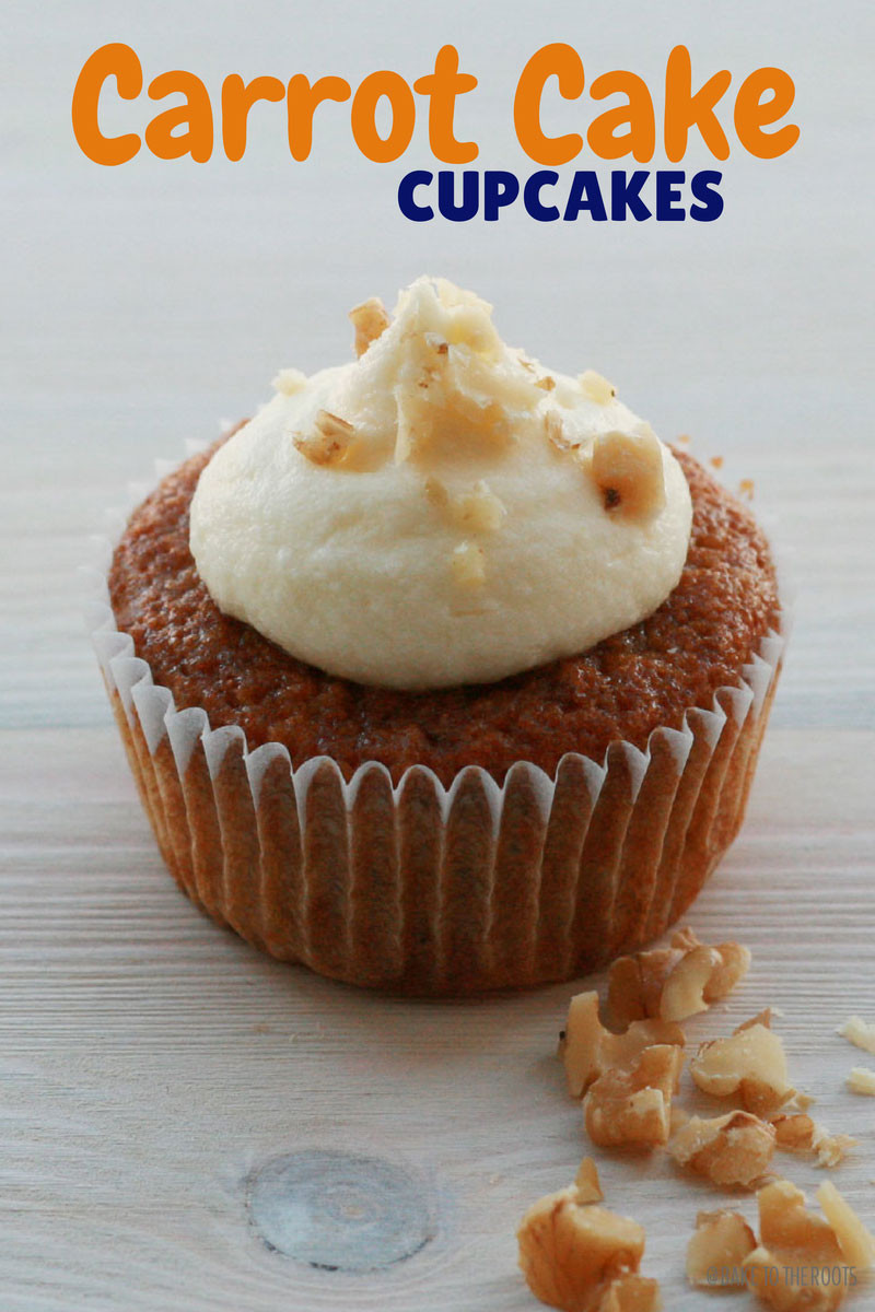 How Long To Bake Cupcakes  Carrot Cake Cupcakes – Bake to the roots