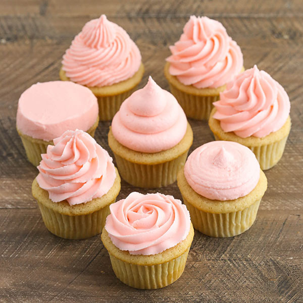 How Long To Bake Cupcakes  How To Frost Cupcakes Step by Step Tutorial with Video