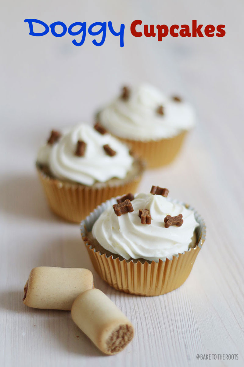 How Long To Bake Cupcakes  Doggy Cupcakes – Bake to the roots