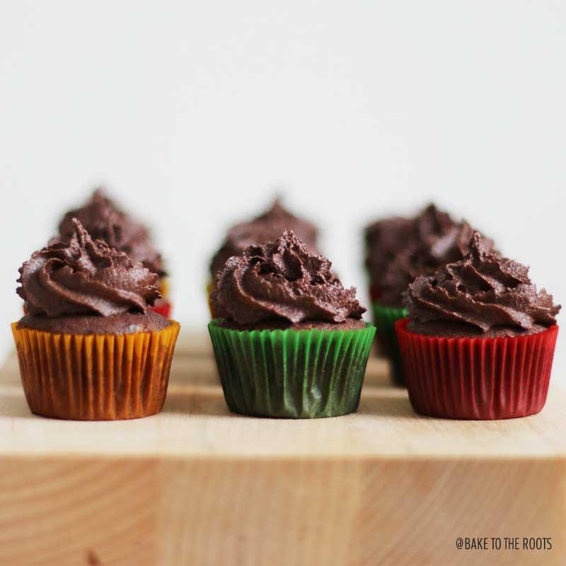 How Long To Bake Mini Cupcakes  Mini Fudgy Chocolate Cupcakes – Bake to the roots