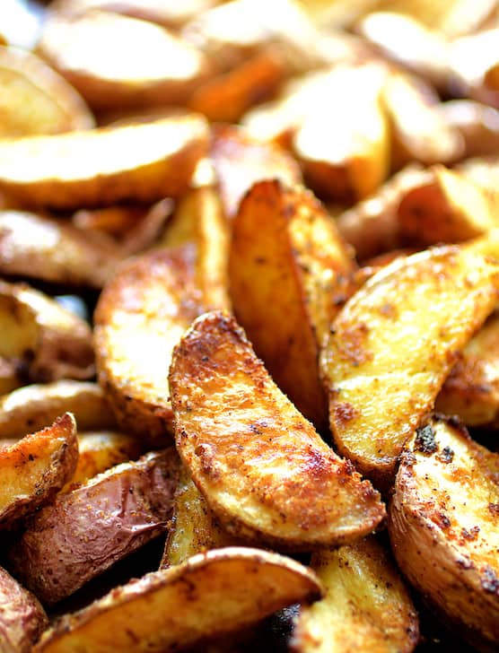 How Long To Bake Potato Wedges  Perfect Roasted Potato Wedges From A Chef s Kitchen
