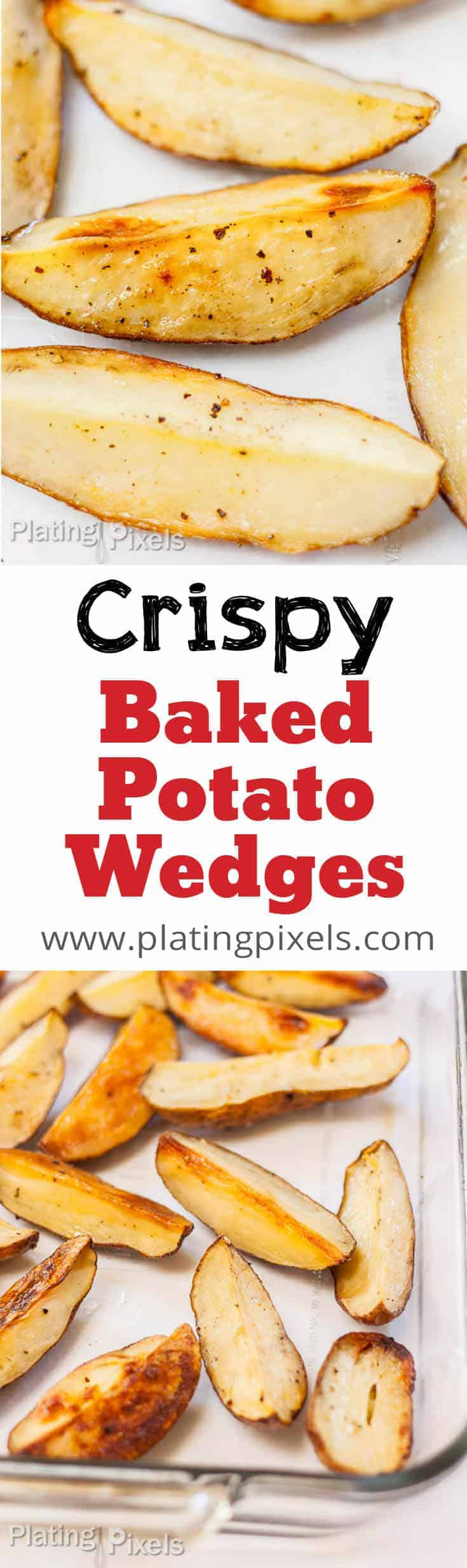 How Long To Bake Potato Wedges  How to Bake Potato Wedges Crispy & Healthy Plating