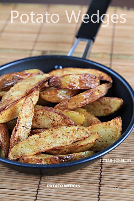 How Long To Bake Potato Wedges  Little Inbox Recipe Eating Pleasure Potato Wedges Air