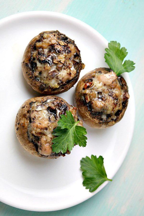 How Long To Bake Stuffed Mushrooms  Easy Stuffed Mushrooms Recipe Girl