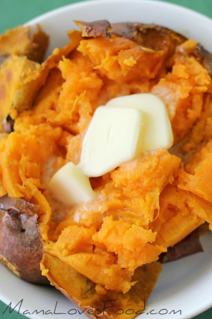 How Long To Cook A Sweet Potato  Baked Sweet Potato How to Bake Sweet Potatoes Mama