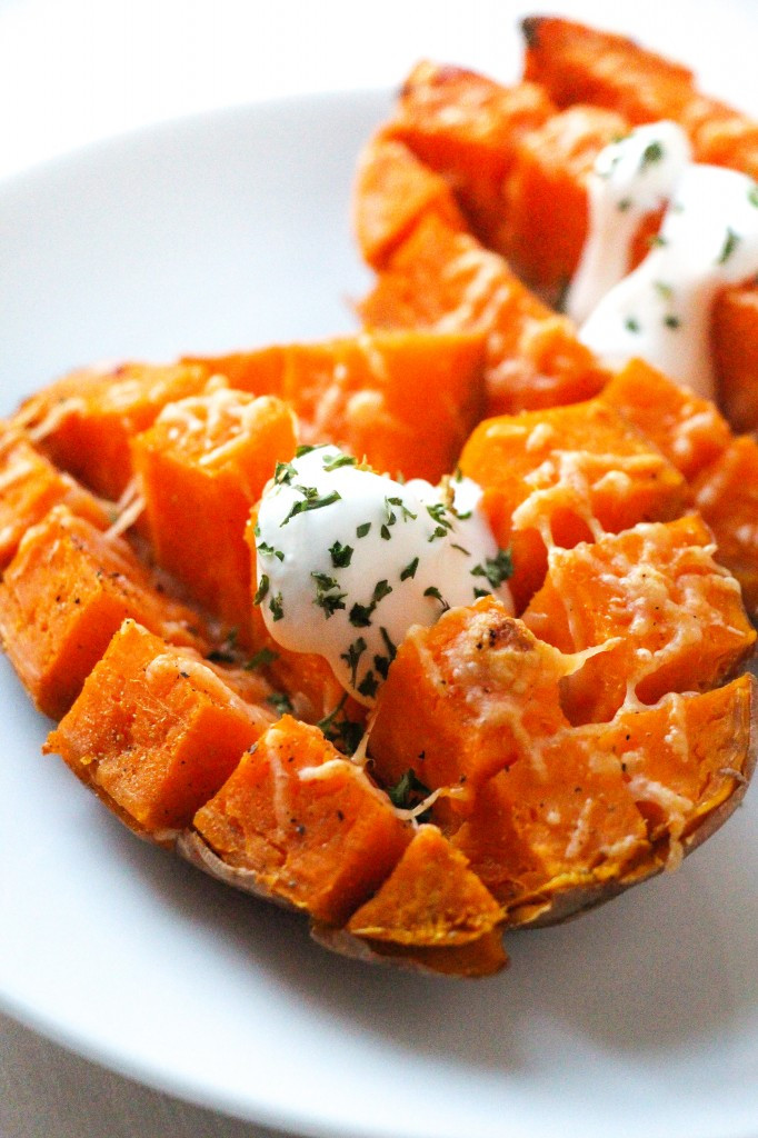 How Long To Cook A Sweet Potato  Easy 15 Minute Roasted Sweet Potatoes Layers of Happiness