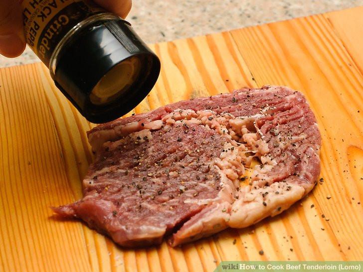 How Long To Cook Beef Tenderloin  3 Ways to Cook Beef Tenderloin Lomo wikiHow