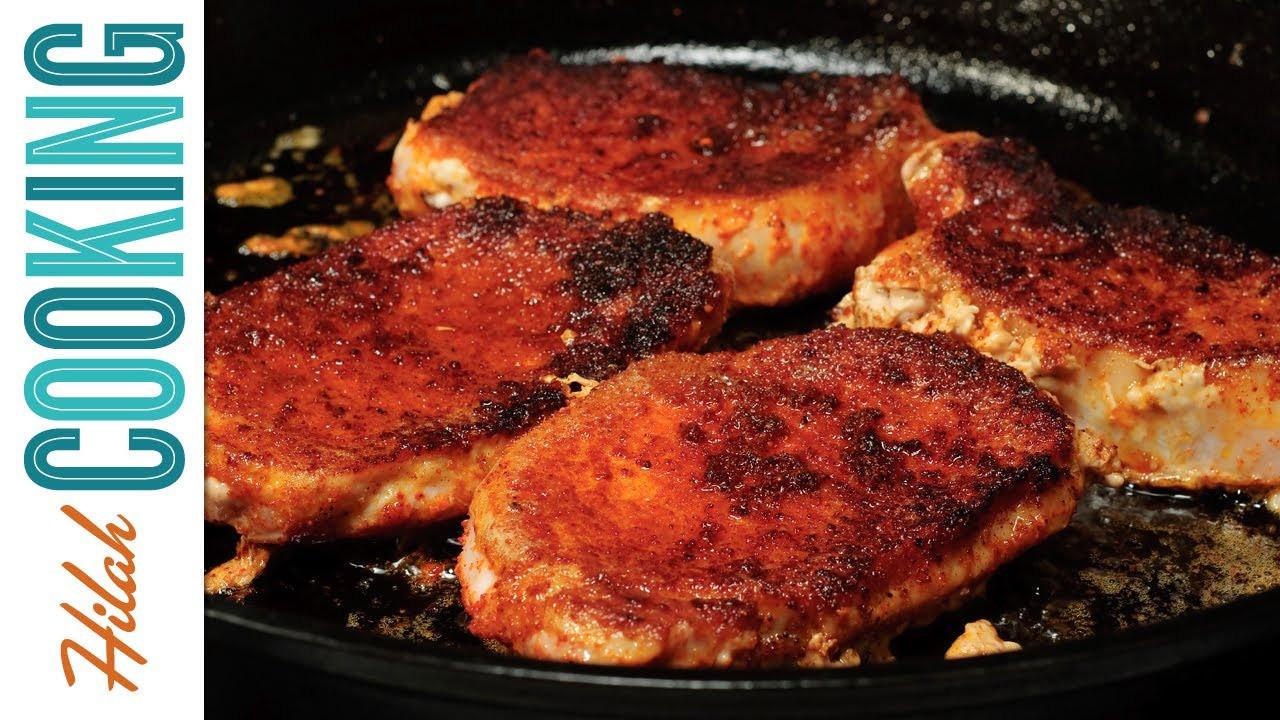 How Long To Cook Bone In Pork Chops  How To Make Pork Chops Hilah Cooking