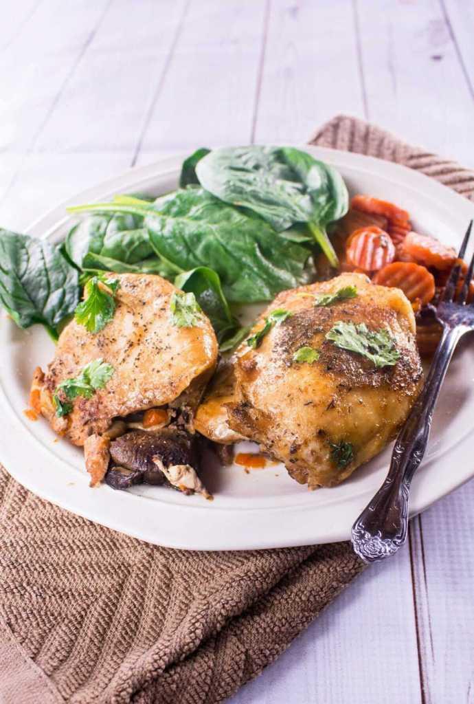 How Long To Cook Chicken Thighs In Crock Pot  Slow Cooker Honey Garlic Chicken Tasty