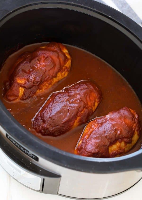 How Long To Cook Chicken Thighs In Crock Pot  Crockpot BBQ Chicken