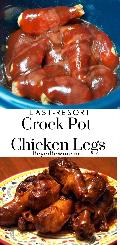 How Long To Cook Chicken Thighs In Crock Pot  Crock Pot Last Resort Chicken Legs Beyer Beware